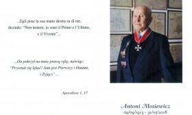 """(Italiano) Addio all'eroe """"liberatore"""" Antoni Mosiewicz – Loro Piceno"""